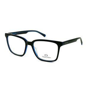 Charles Delon Square  Style Blue/Black Frame